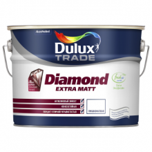 Краска DULUX TRADE Diamond Extra Matt BW матовая 10 л., фото 1