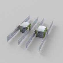 Виброизоляционное крепление SoundGuard Vibro DUO для перегородок, фото 1