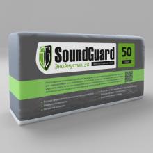 Звукопоглощающая плита SoundGuard ЭкоАкустик 30 (50 мм) (3м2 упак.), фото 1