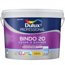 Краска DULUX Professional BINDO-20 интерьерная полуматовая 9 л. BC (Основа под колеровку), фото 1