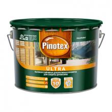 Пропитка для древесины PINOTEX Ultra Белый с УФ фильтром 9 л., фото 1