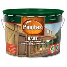 Грунтовка PINOTEX Base деревозащитная бесцветная 9 л., фото 1