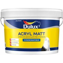 Краска глубокоматовая DULUX ACRYL MATT BW 9 л, фото 1