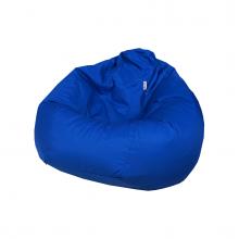 """Бескаркасное кресло-мешок """"Pear"""" синий (300л), фото 1"""