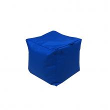 Бескаркасный пуф «Mini Сube» синий (50л), фото 1