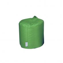 Бескаркасный пуф «Mini Drum» зеленый (50л), фото 1