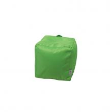 Бескаркасный пуф «Mini Сube» зеленый (50л), фото 1
