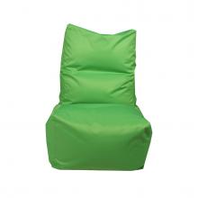 """Бескаркасное кресло-мешок со спинкой """"Throne"""" зеленый (350л), фото 1"""