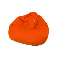 """Бескаркасное кресло-мешок """"Pear"""" оранжевый (300л), фото 1"""