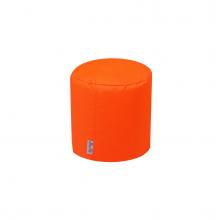 Бескаркасный пуф «Mini Drum» оранжевый (50л), фото 1