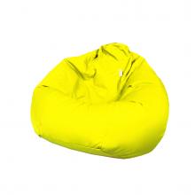 """Бескаркасное кресло-мешок """"Pear"""" желтый (300л), фото 1"""