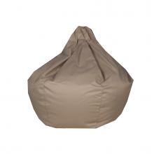 "Бескаркасное кресло-мешок ""Pear"" бежевый (300л), фото 1"