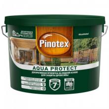 Пропитка PINOTEX Aqua Protect на водной основе 9 л., фото 1