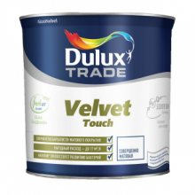 Краска DULUX TRADE Velvet Touch в/д матовая bs BW 2.5 л., фото 1