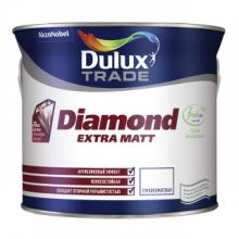Краска DULUX TRADE Diamond Extra Matt BW матовая 2.5 л., фото 1