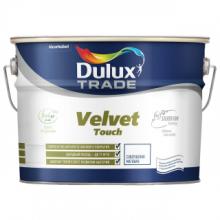 Краска DULUX TRADE Velvet Touch в/д матовая bs BW 10 л, фото 1