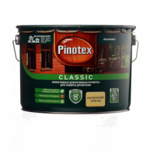 Пропитка для древесины PINOTEX Classic CLR база под колеровку 9 л., фото 1