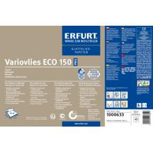 Обои флизелиновые гладкие ERFURT-Variovlies ECO150 (рулон 25 м2), фото 1
