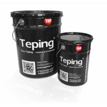 Наливной пол Тэпинг 205 Прозрачный, двухкомпонентный эпоксидный,  комплект 21.6 кг., фото 1