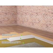"""Звукоизоляция пола в квартире - система """"Эконом+"""" Толщина - 25,5 мм, RW = 54-58, фото 1"""