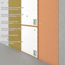 """Бескаркасная звукоизоляция стены """"Премиум+"""" Толщина 35 мм, RW = 62-64 дБ, фото 1"""