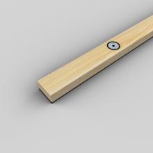 Рейка деревянная виброизолированная SoundGuard ВиброЛайнер Д (1525х47x24мм), фото 1