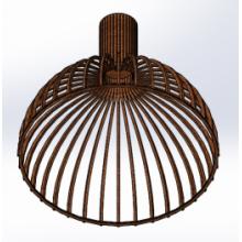 Светильник потолочный Semisfera-M Lite (H=450, D=500), фото 1