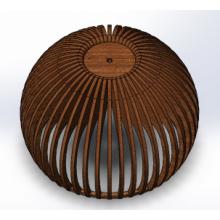 Светильник потолочный Sferica-L Lite (H=400, D=600), фото 1