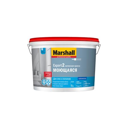 Краска для стен и потолка MARSHALL 'EXPORT-2' 9л, фото 1