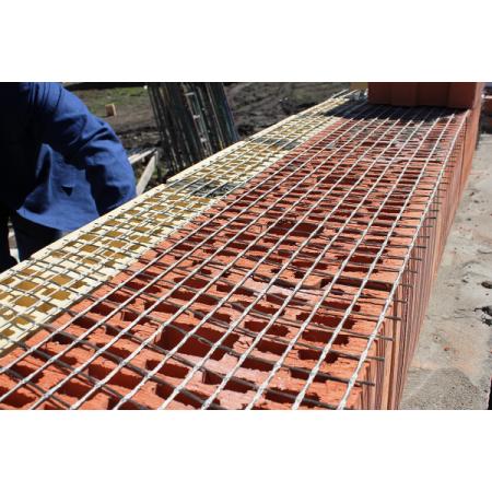 Сетка кладочная базальтовая Фасад Про (25х25) 50м2, фото 2