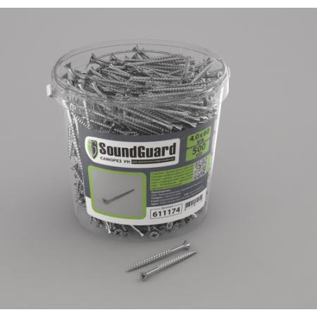 Саморезы SoundGuard 4х60  универсальные 500шт, фото 1