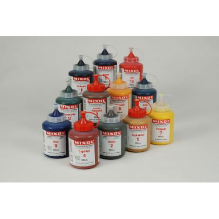 Колер универсальный Mixol №4 (500 ml) Оксид-красный, фото 1