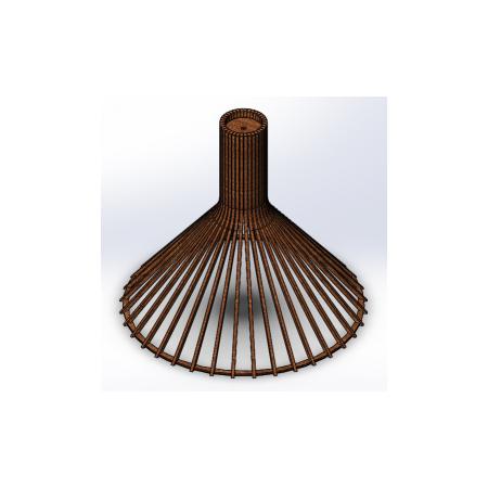 Светильник потолочный Conical Lite (H=450, D=495), фото 1