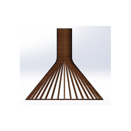 Светильник потолочный Conical Lite (H=450, D=495), фото 2