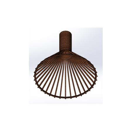 Светильник потолочный Conical Lite (H=450, D=495), фото 3