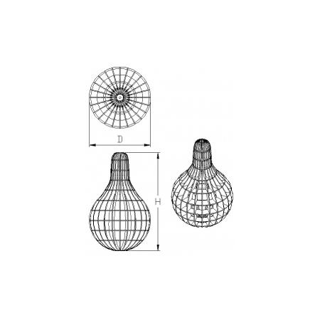 Светильник потолочный Pear Lite (H=540 мм, D=340 мм), фото 5