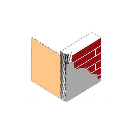 Усилитель угла 2,5м*10*15 с сеткой КРЕПИКС 1300, фото 3