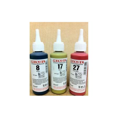 Колер универсальный Mixol №20(80 ml) каштановый, фото 1