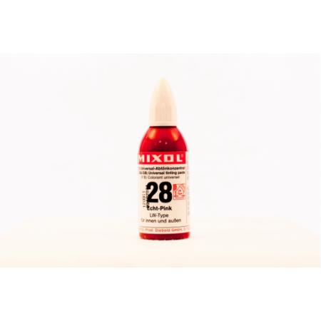 Колер универсальный Mixol №28(20 ml) розовый прочный, фото 1
