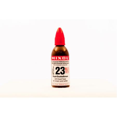Колер универсальный Mixol №23(20 ml) темно-коричневый, фото 1
