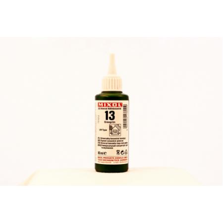 Колер универсальный Mixol №13(80 ml) травянисто-зеленый, фото 1