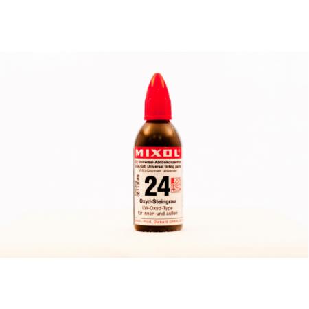 Колер универсальный Mixol №24(20 ml) каменисто-серый, фото 1