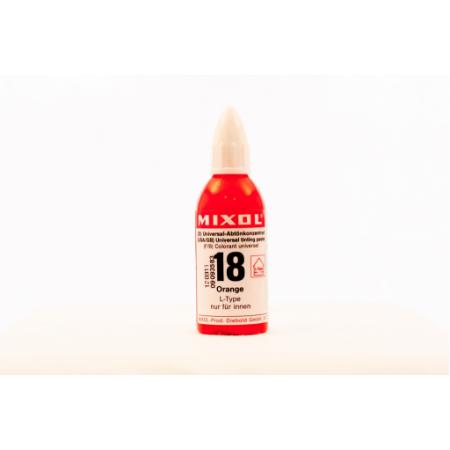 Колер универсальный Mixol №18(20 ml) оранжевый, фото 1