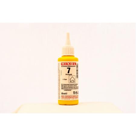 Колер универсальный Mixol №7(80 ml) канареечно-желтый, фото 1
