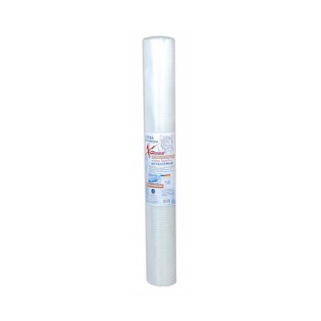 Сетка стеклотканевая штукатурная 5мм х 5мм х 50м, 60 г/кв.м 'X-Glass', фото 1