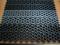 Ковер-решетка модульный сборный грязезащитный